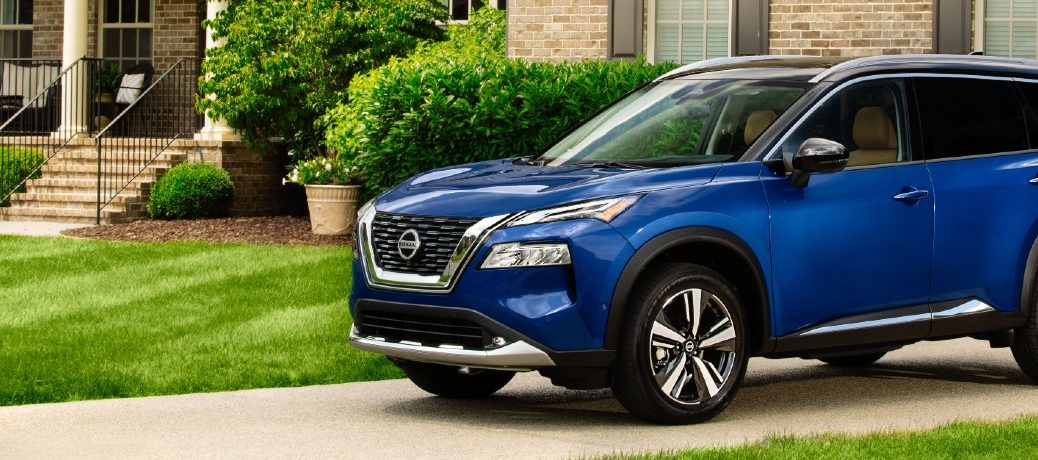 2021 Nissan Rogue Exterior Driver Side Front Profile