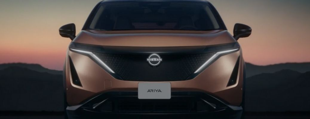 2022 Nissan Ariya parked front view