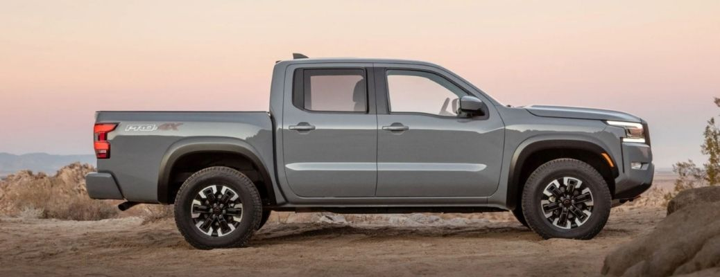 2022 Nissan Frontier Pro 4X Side View
