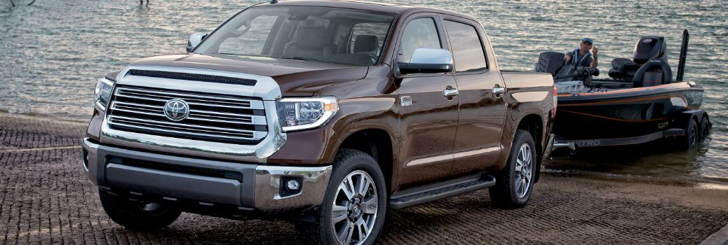 2018 Toyota Tundra Exterior Driver Side Front Profile Towing