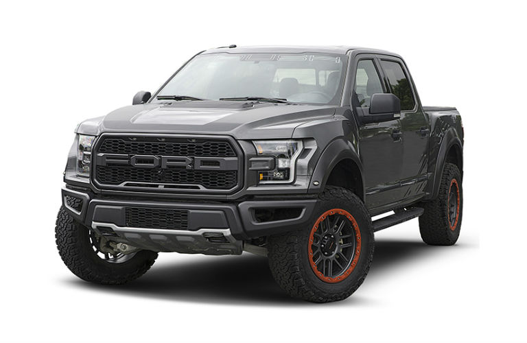 2018 Ford F-150 ROUSH Raptor Exterior Driver Side Front Angle