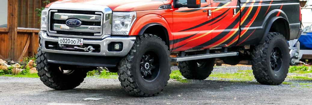Ford Truck featuring Lift Kit