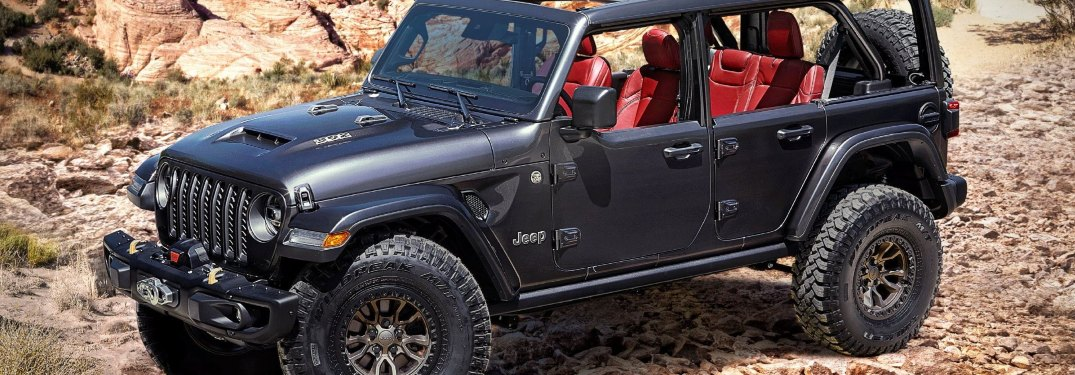 Is there a Jeep Wrangler model with a V8 engine?