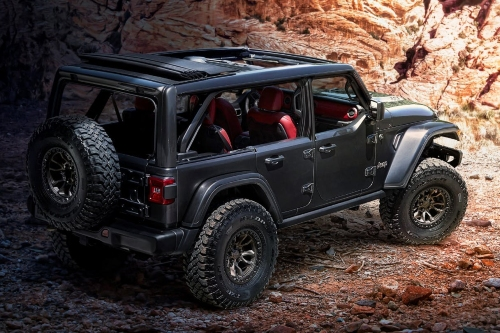 Jeep Wrangler Rubicon 392 Concept rear view