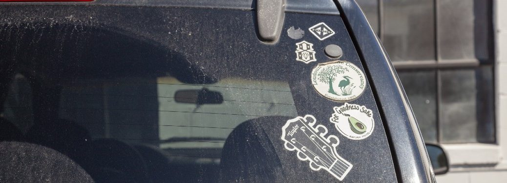 How to Remove a Sticker from Your Car Window