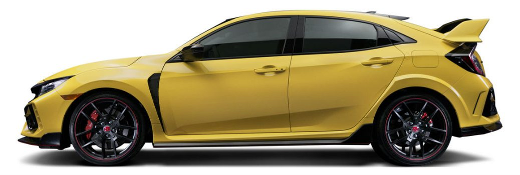 2021 Honda Civic Type R Limited Edition Exterior Driver Side Profile