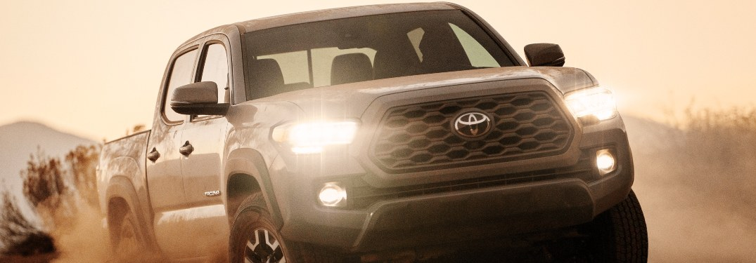 How Many Exterior Colors are Available for the 2021 Toyota Tacoma?