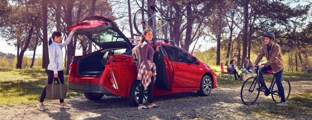 2021 Toyota Prius Prime parked outside