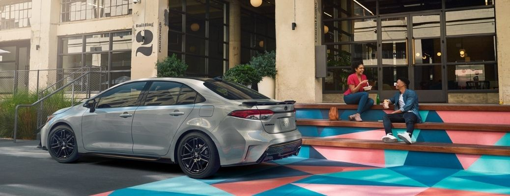 2021 Toyota Corolla parked side view