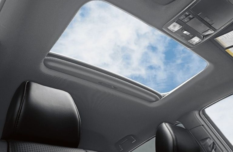 2021 Toyota Tacoma view of the sunroof