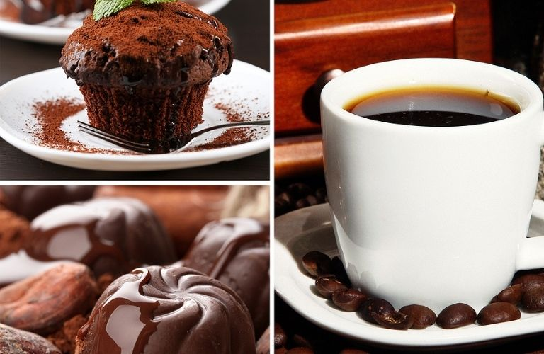 Cafés serve coffee and delicious desserts on their menu