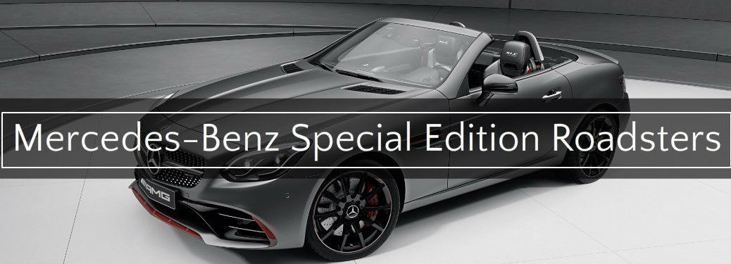 New Mercedes-Benz Special Edition Roadsters