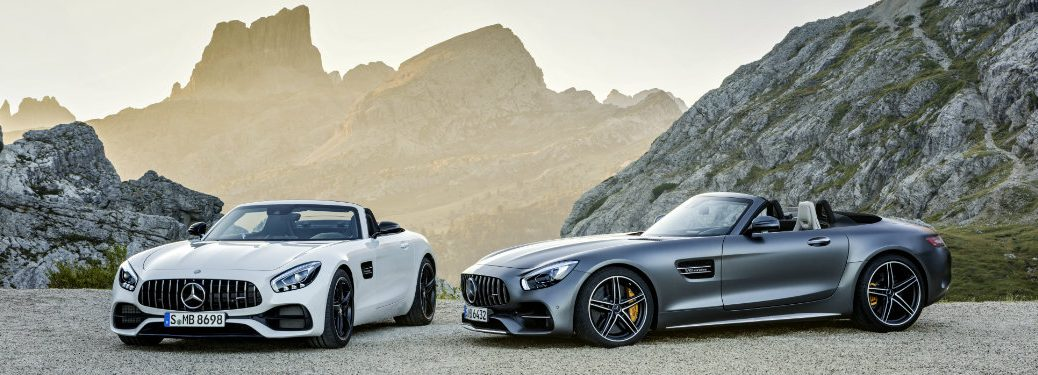 new AMG and AMG GT C Roadsters