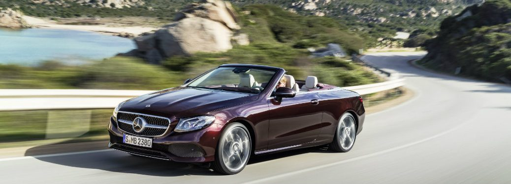 New E-Class Cabriolet Features