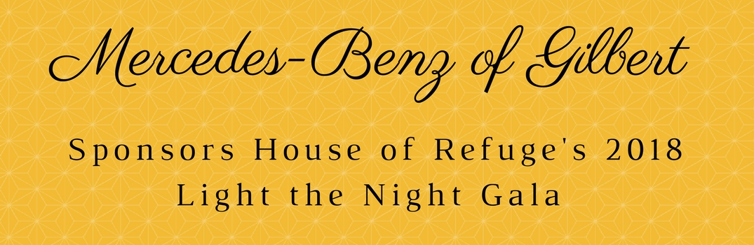 Mercedes-Benz of Gilbert Helps Light the Way for House of Refuge