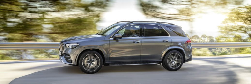 2021 Mercedes-Benz AMG GLE 53 Coupe on the road