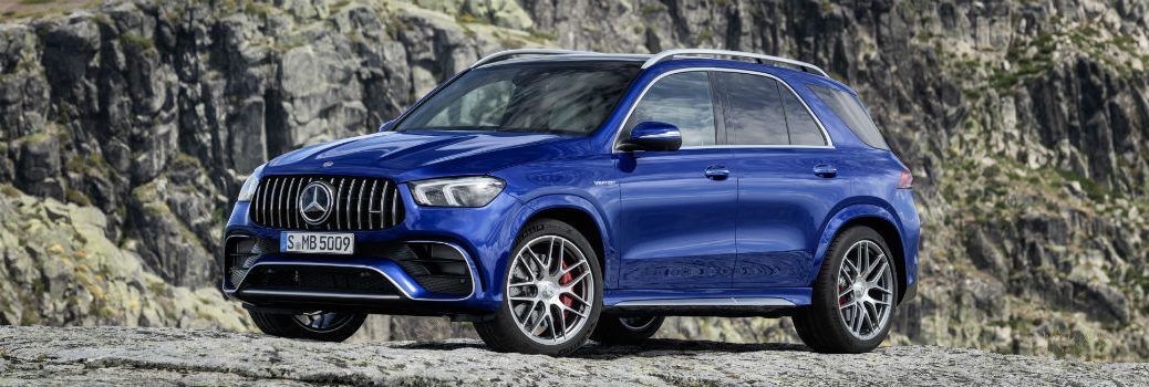 2020 Mercedes-AMG® GLE 63 S 4MATIC® exterior profile