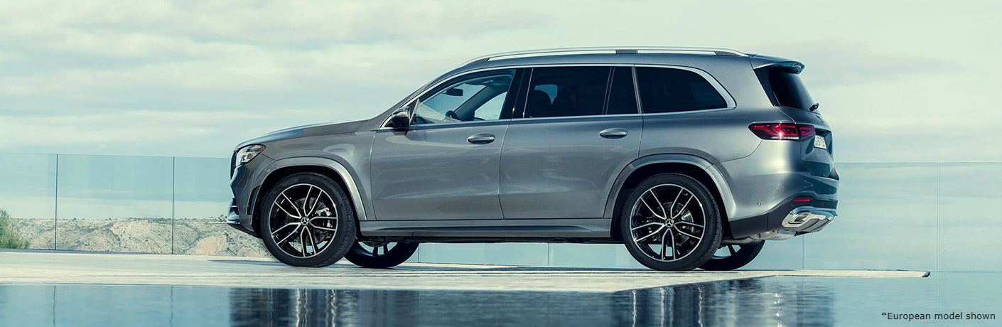 Exterior color options in the 2020 Mercedes-Benz GLS