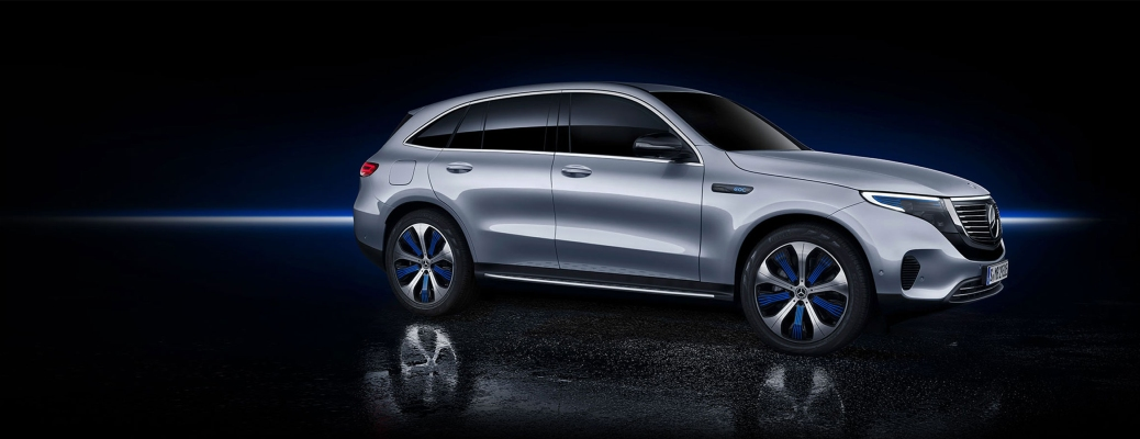What electric vehicles has Mercedes-Benz announced?