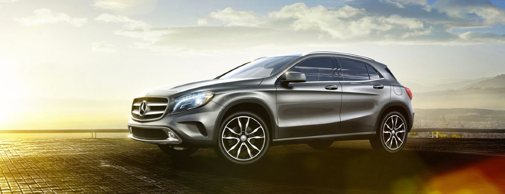 Front/side view of 2017 Mercedes-Benz GLA