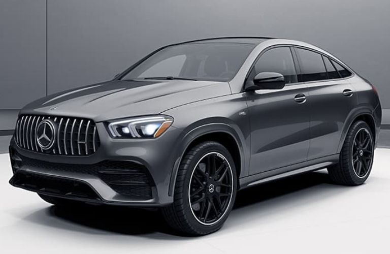 2021 Mercedes-Benz AMG GLE 53 Coupe side and front look