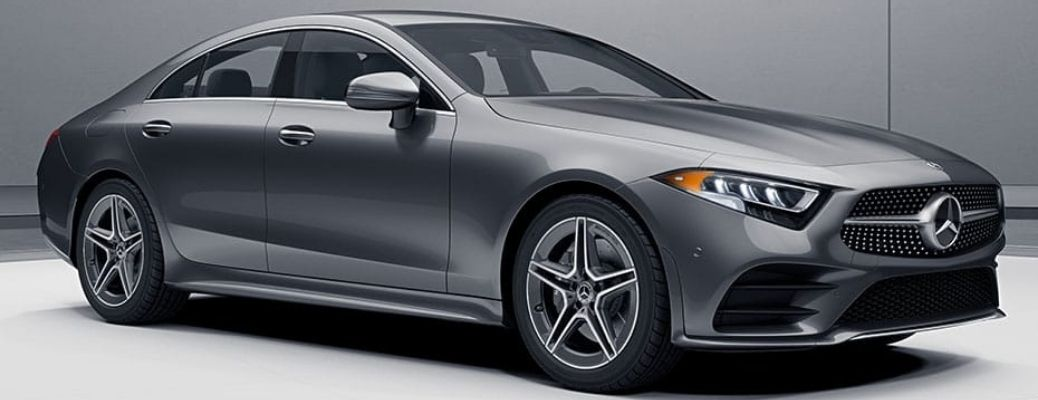 2021 MB CLS 450 Coupe side profile