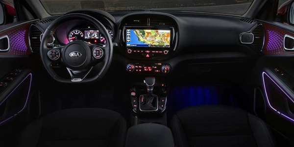 See the interior of a handicap-accessible Kia Soul.
