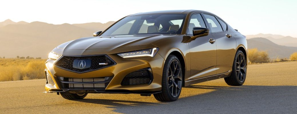 The 2021 Acura TLX Type S will offer more performance than the standard version.