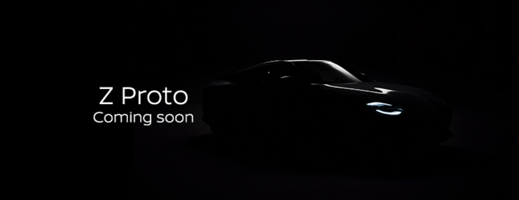 Nissan Z Proto Coming Soon image with silhouette