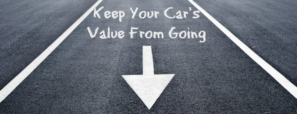 maintain the value of your car