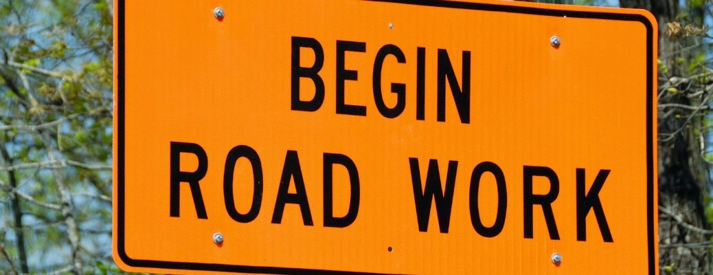 Tips for driving in a construction zone