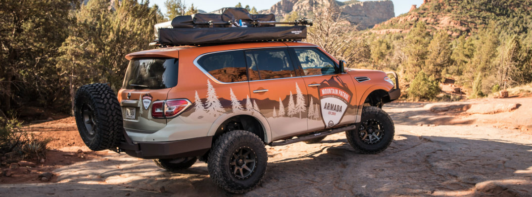 """What is the Nissan Armada """"Mountain Patrol"""" vehicle?"""