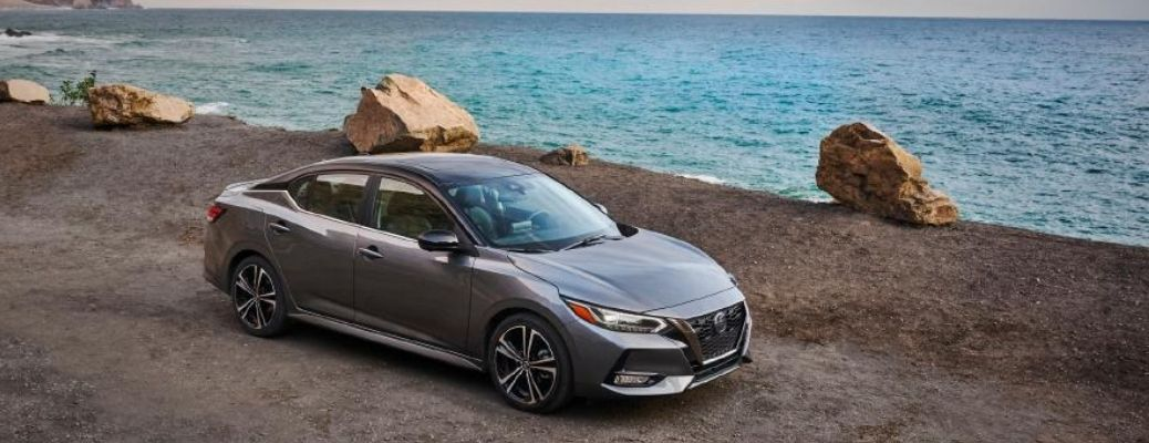 top view of the 2021 Nissan Sentra