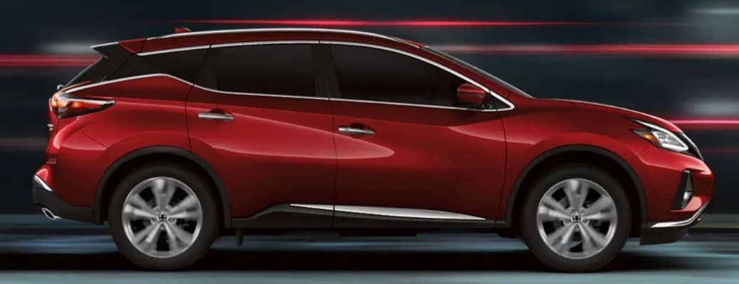 2021-Nissan-Murano-Red-Side-View
