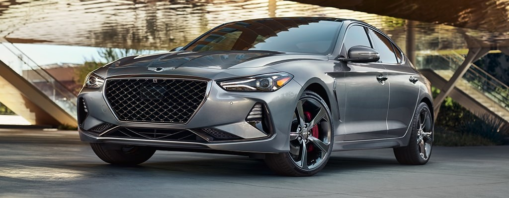 Front view of Genesis G70