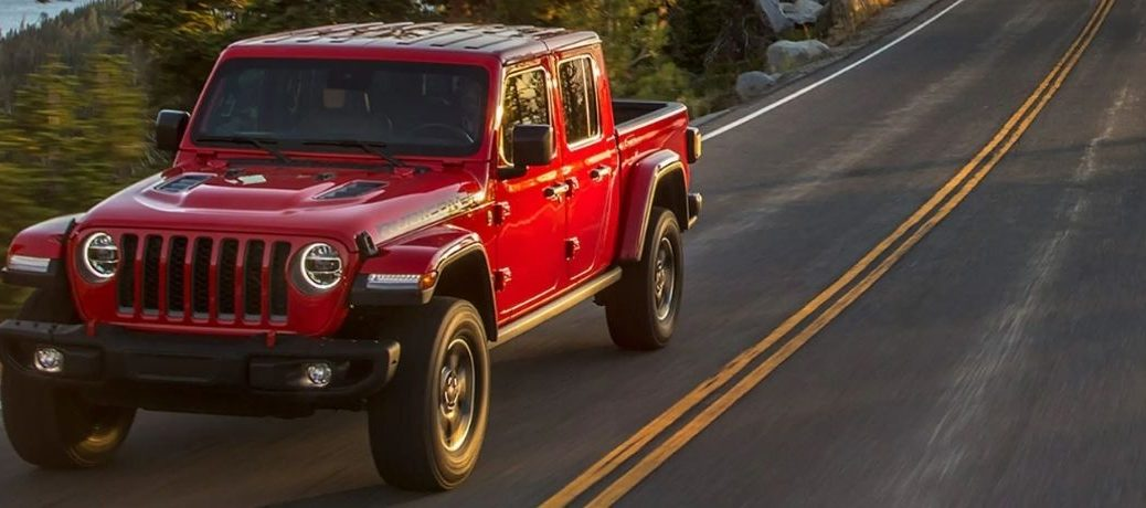 2021 Jeep Gladiator on a highway