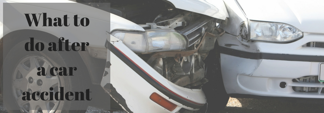 What do I do after a car accident?