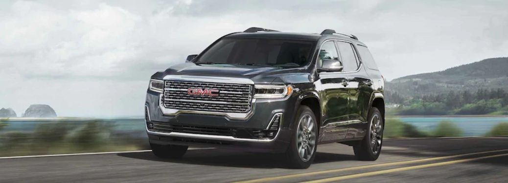 2021 Acadia front exterior view