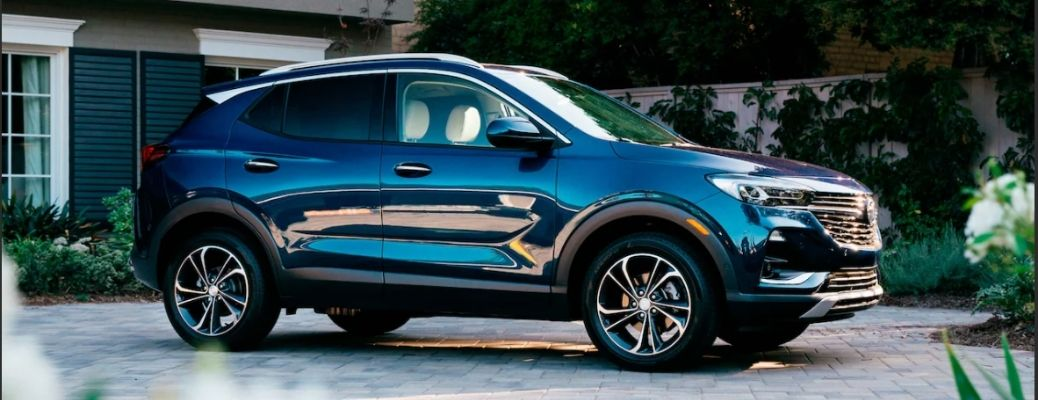 2021 Buick Encore GX parked side view