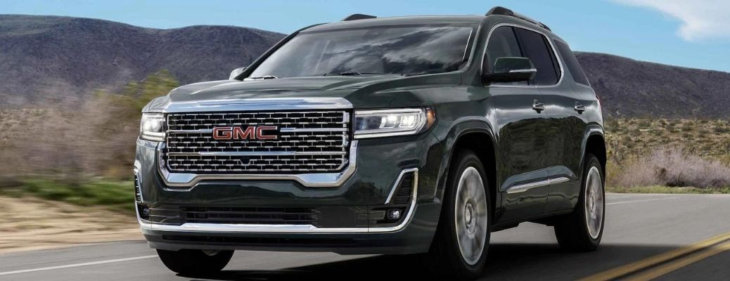 2022 GMC Acadia front and side look