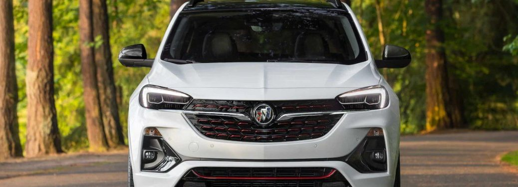 2022 Buick Encore GX from the front
