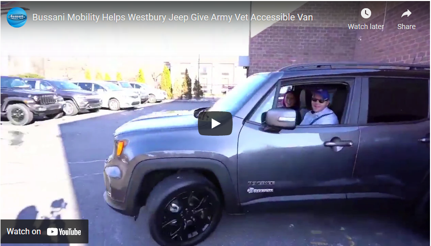 Veteran Christopher Levy Wins a New Jeep
