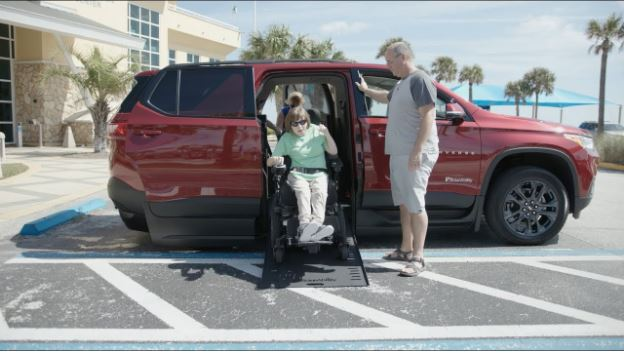 A Sneak Peek at the New Wheelchair Accessible SUV Chevy Traverse - Coming This Fall