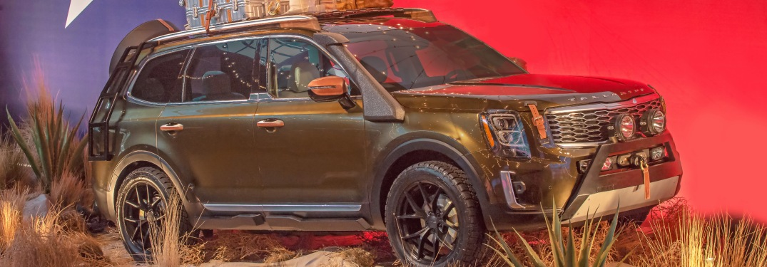 Upcoming Kia Telluride Spotted Outside