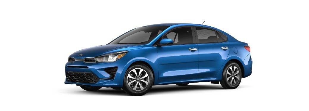 2021 Kia Rio from exterior front driver's side