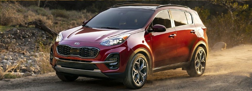 2022 Kia Sportage from front