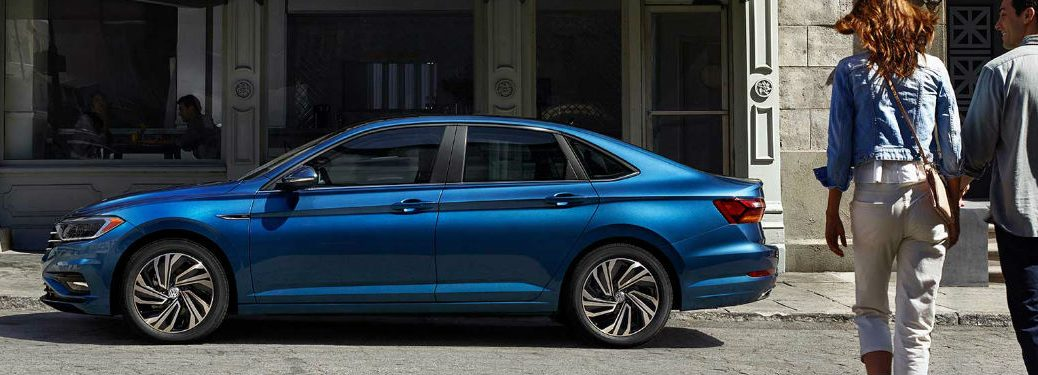 2019 Volkswagen Jetta side profile
