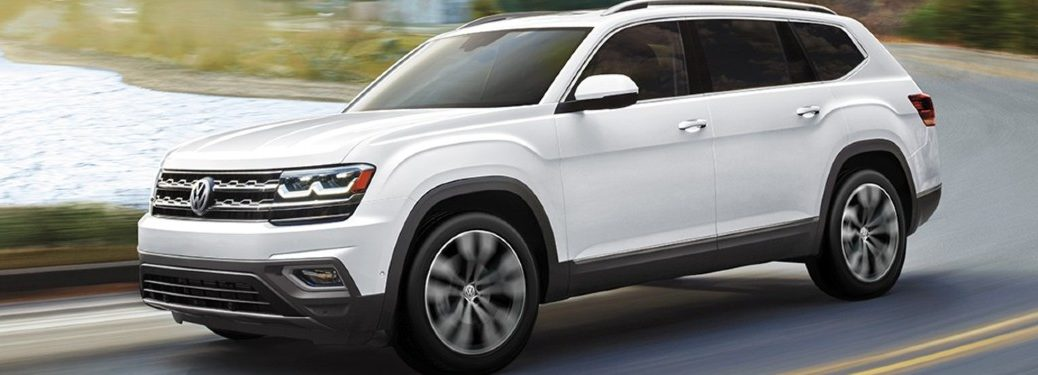 2020 Volkswagen Atlas side profile