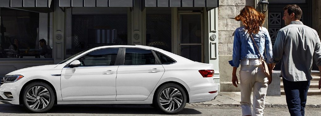 2020 Volkswagen Jetta parked on a street