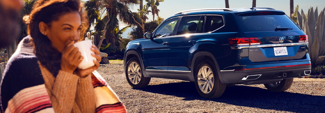 7 Paint color options to pick from when buying a new 2021 Volkswagen Atlas SUV